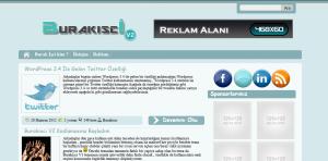 BurakisciV blog chat teması