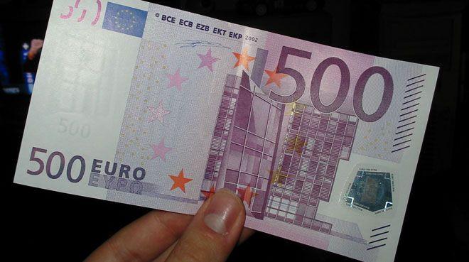 500 Euro`lar tedavülden kalkıyor!